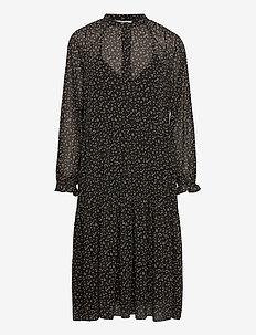 Della Dress - midi kjoler - caviar