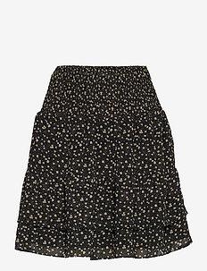 Della Short Skirt - korta kjolar - caviar