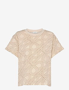 Topaz Tee - t-shirts - natural