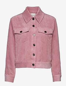 Boyas Jeans Jacket - jeansjackor - lilas