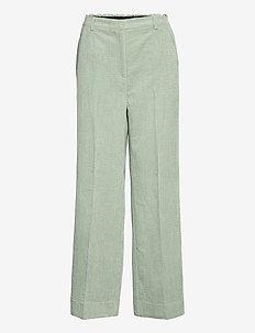 Boyas Classic Trousers - bukser med brede ben - green milieu