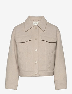 Harmony Jacket - wool jackets - humus