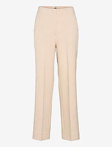 Evie Classic Trousers - bukser med lige ben - brazilian sand