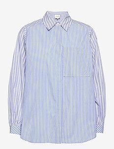 Evelin Shirt - långärmade skjortor - brunnera blue