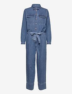 Ingrid Jumpsuit - kläder - blue denim