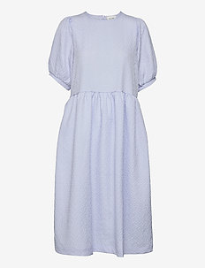Leah Dress - sommarklänningar - brunnera blue