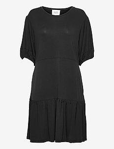 Jennifer SS Dress - sommerkjoler - black