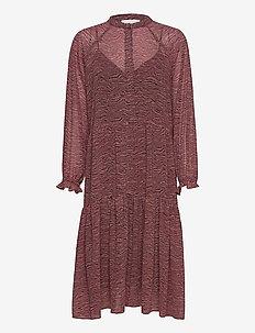 Venezia Midi Dress - vardagsklänningar - roan rouge