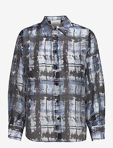 Imprint Shirt - overshirts - blue shadow