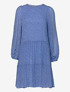 Mano Dress - sommarklänningar - blue bonnet