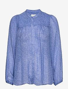 Mano Shirt - långärmade blusar - blue bonnet