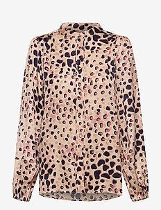 Amur Shirt - långärmade blusar - cement
