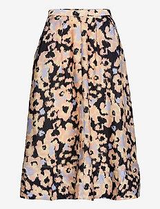 Ruth Skirt - midi kjolar - deep well