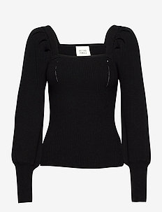 Bess Knit - trøjer - black