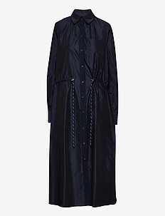 Calypso Coat Dress - vardagsklänningar - deep well