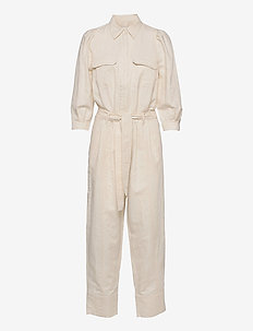 Selene New Jumpsuit - jumpsuits - white swan