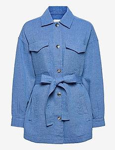 Calous Jacket - tunna jackor - bel air blue