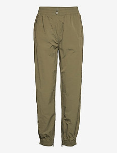 Season New Track Trousers - raka byxor - olive night