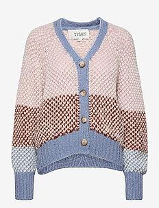 Berthe Knit Cardigan - koftor - light mahagony