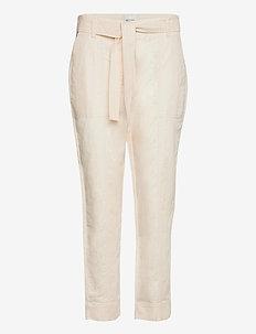 Selene New Track Trousers - raka byxor - white swan