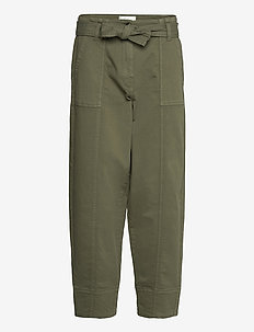 Terry Trousers - casual byxor - olive night
