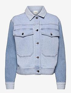 Sherman Jacket - denim jackets - bel air blue