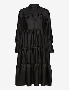 Rosalina Midi Dress - vardagsklänningar - black