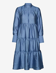 Rosalina Midi Dress - vardagsklänningar - blue bonnet