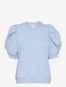 Miami Sweat Tee - t-shirts - pale sky blue