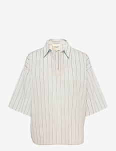 Naples Tunic - kortärmade skjortor - dessert sage