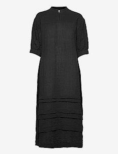 Mallorca Midi Dress - sommarklänningar - black