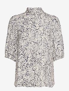 Fiji Shirt - kortärmade skjortor - bright white