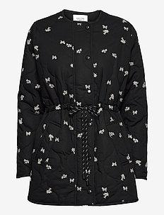 California Quilt Jacket - quiltade jackor - black