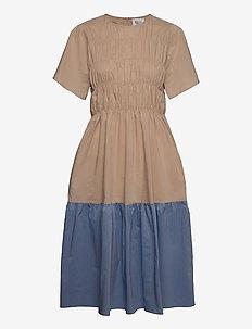 Glasgow Dress - vardagsklänningar - beige