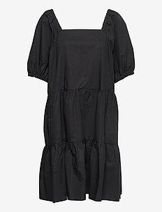 Athena Dress - sommarklänningar - black