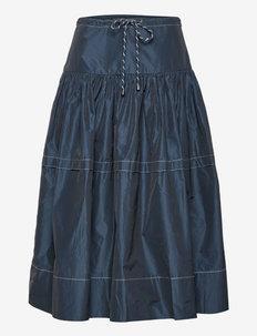 Calypso Skirt - midi kjolar - maritime blue