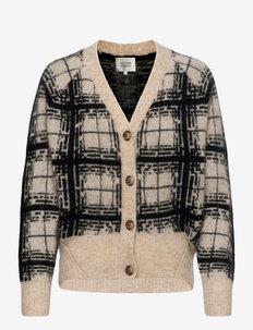 Louisa Knit Cardigan - cardigans - black