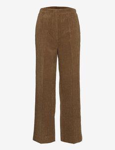 Boya Trousers - uitlopende broeken - dessert palm