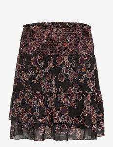 Miao Skirt - midi rokken - black