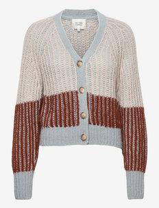 Rosini Knit Cardigan - koftor - baked clay