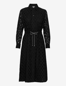 Thelma Dress - spetsklänningar - black