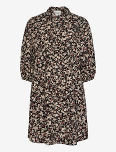 Annie Shirt Dress - sommarklänningar - black