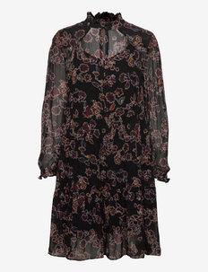 Miao Dress - cocktailklänningar - black