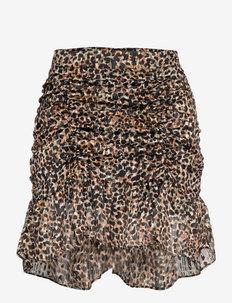 Erna Skirt - short skirts - burnt olive