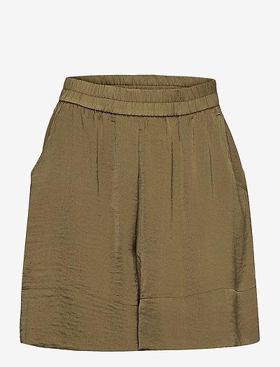 Minga Shorts - casual shorts - stone green