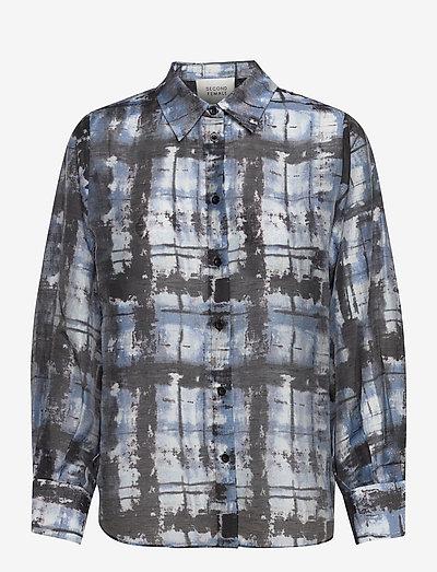 Imprint Shirt - clothing - blue shadow