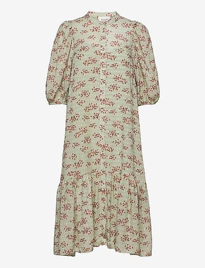 Pune Shirt Dress - sommarklänningar - dessert sage