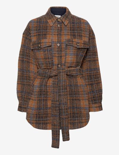 Azucena Jacket - ulljackor - cinnamon stick