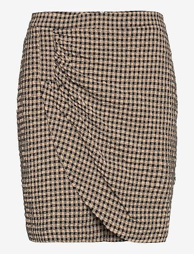 Hulana Skirt - korta kjolar - chinchilla