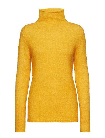 Brook Knit New T-neck - GOLDEN GLOW